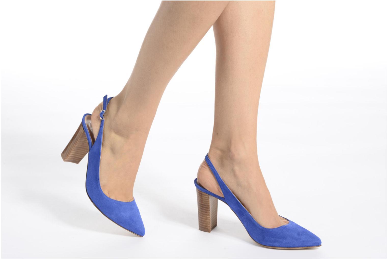Escarpins Made by SARENZA 90's Girls Gang Escarpins #4 Bleu vue bas / vue portée sac
