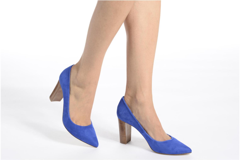 Zapatos de tacón Made by SARENZA Donut hut #13 Azul vista de abajo