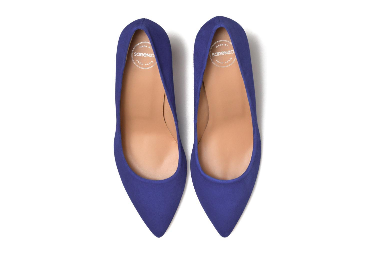 Zapatos de tacón Made by SARENZA Donut hut #13 Azul vista del modelo