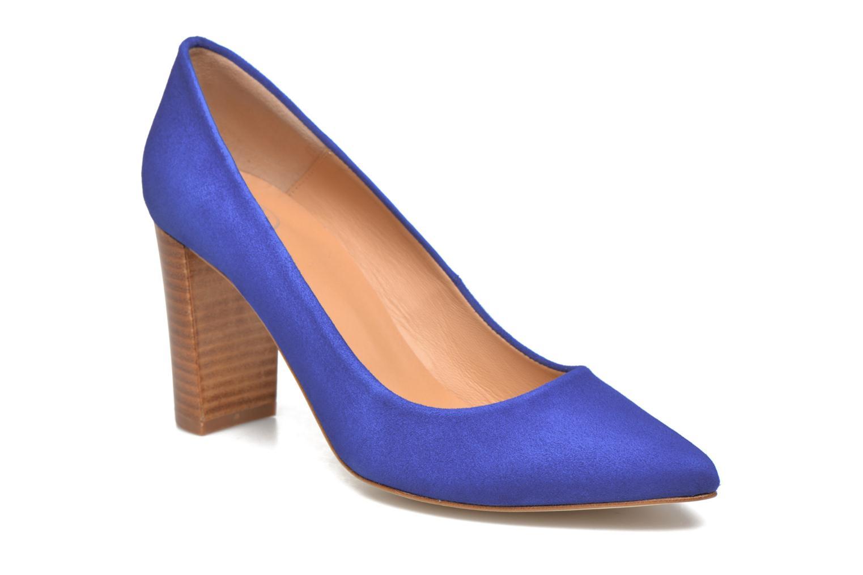 Zapatos de tacón Made by SARENZA Donut hut #13 Azul vista lateral derecha