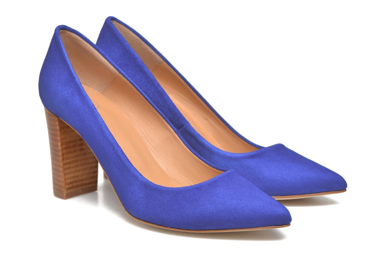 Zapatos de tacón Made by SARENZA Donut hut #13 Azul vistra trasera