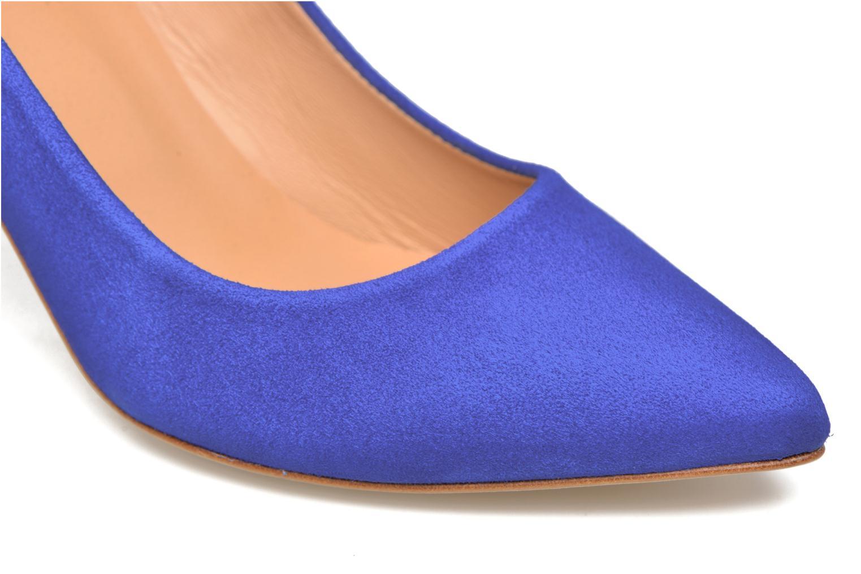 Zapatos de tacón Made by SARENZA Donut hut #13 Azul vista lateral izquierda