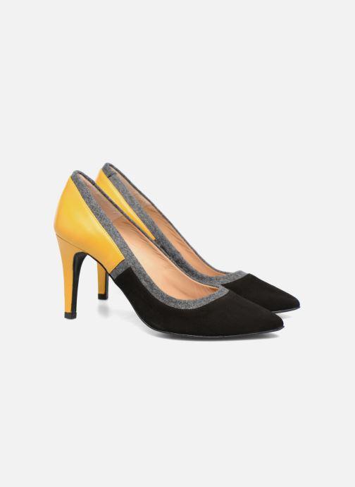 High heels Made by SARENZA Snow Disco #1 Black back view