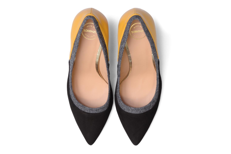 High heels Made by SARENZA Snow Disco #1 Black model view