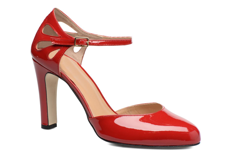 Høje hæle Made by SARENZA Rock-a-hula #5 Rød Se fra højre