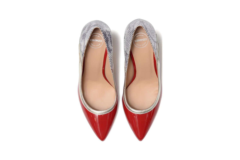 Escarpins Made by SARENZA Rock-a-hula #10 Rouge vue portées chaussures