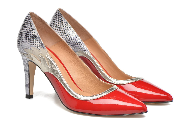 Escarpins Made by SARENZA Rock-a-hula #10 Rouge vue derrière