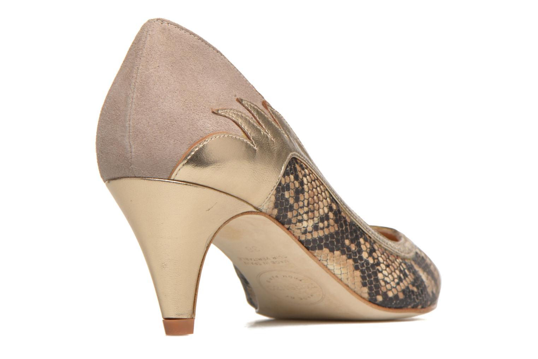 Høje hæle Made by SARENZA Rock-a-hula #8 Beige se forfra