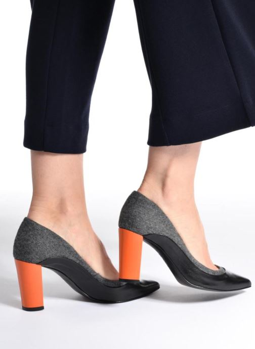 Zapatos de tacón Made by SARENZA Crazy Seventy #3 Negro vista de abajo