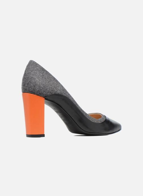 Zapatos de tacón Made by SARENZA Crazy Seventy #3 Negro vista de frente