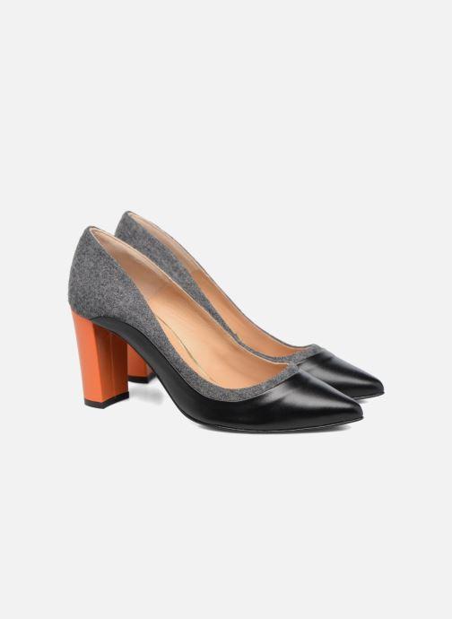 Zapatos de tacón Made by SARENZA Crazy Seventy #3 Negro vistra trasera