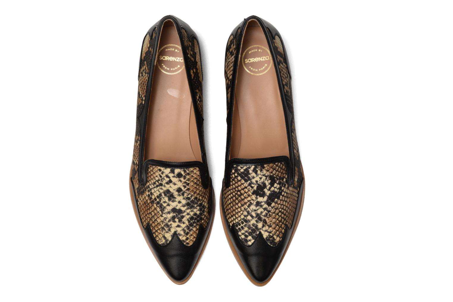 Loafers Made by SARENZA Vegas Lipstick #1 Black model view