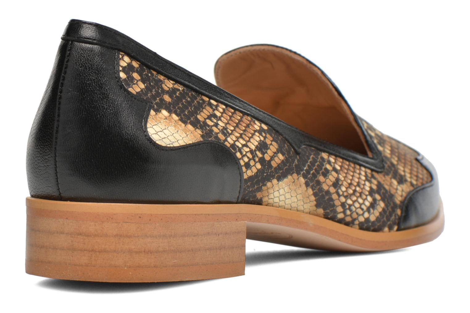 Loafers Made by SARENZA Vegas Lipstick #1 Black front view
