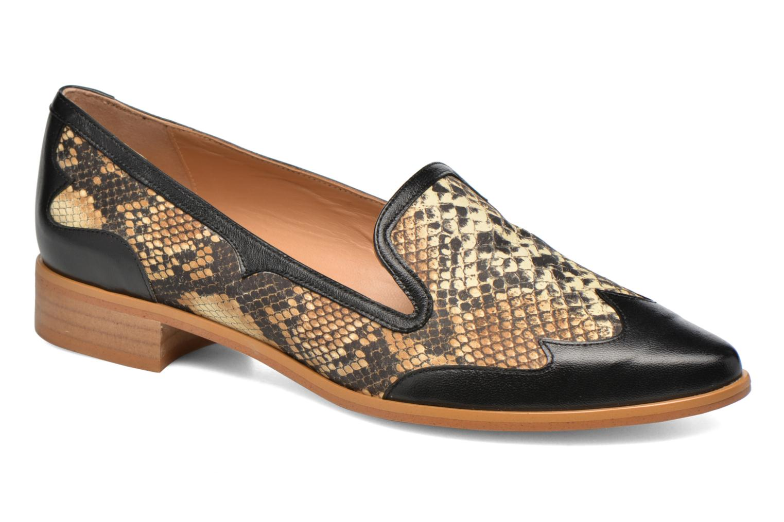 Loafers Made by SARENZA Vegas Lipstick #1 Black view from the right