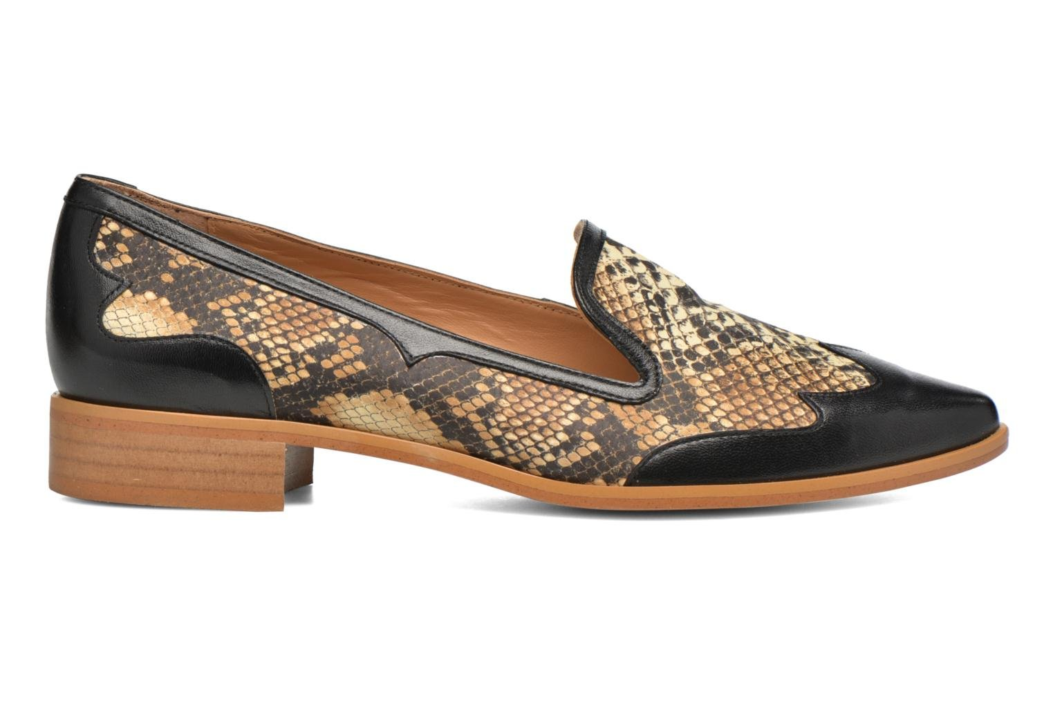 Loafers Made by SARENZA Vegas Lipstick #1 Black detailed view/ Pair view