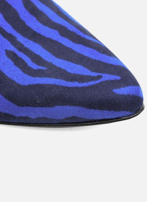 By Cuir Made Babes Mocassins Sarenza 1 Velours Imprimé Bombay Zèbre Bleu FqndAq