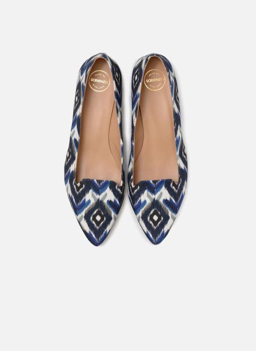 Slipper Made by SARENZA Bombay Babes Mocassins #1 blau schuhe getragen