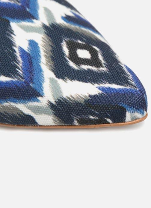 Slipper Made by SARENZA Bombay Babes Mocassins #1 blau ansicht von links