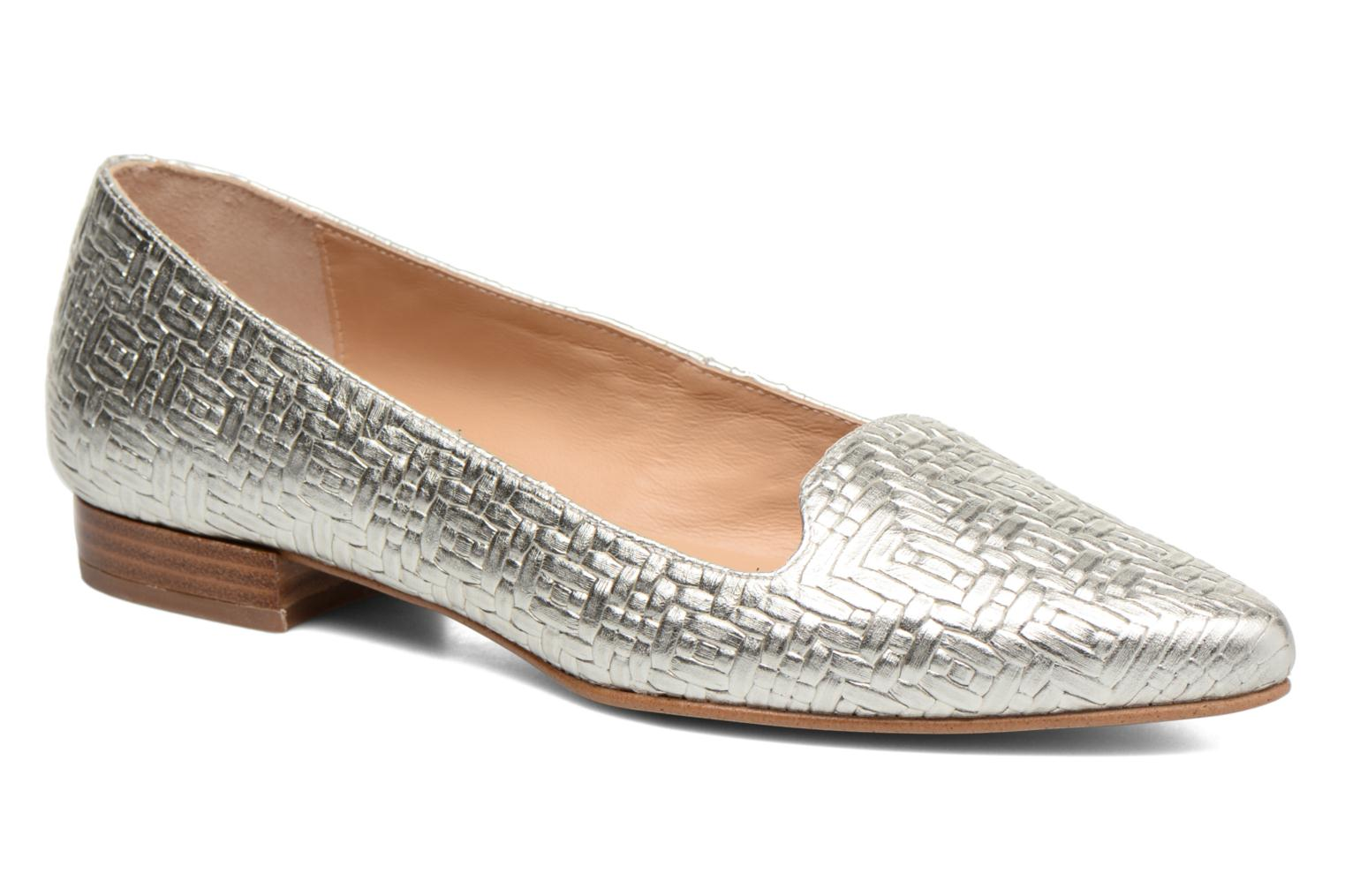 Loafers Made by SARENZA Bombay Babes Mocassins #1 Silver view from the right
