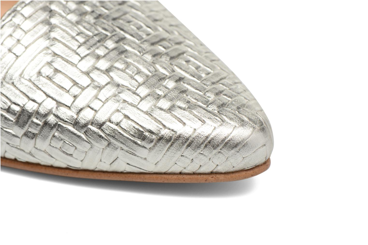 Loafers Made by SARENZA Bombay Babes Mocassins #1 Silver view from the left