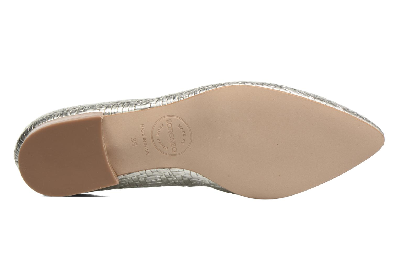 Loafers Made by SARENZA Bombay Babes Mocassins #1 Silver view from above