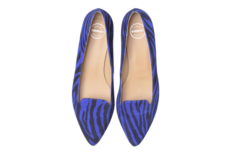 Mocasines Made by SARENZA Bombay Babes Mocassins #1 Azul vista del modelo