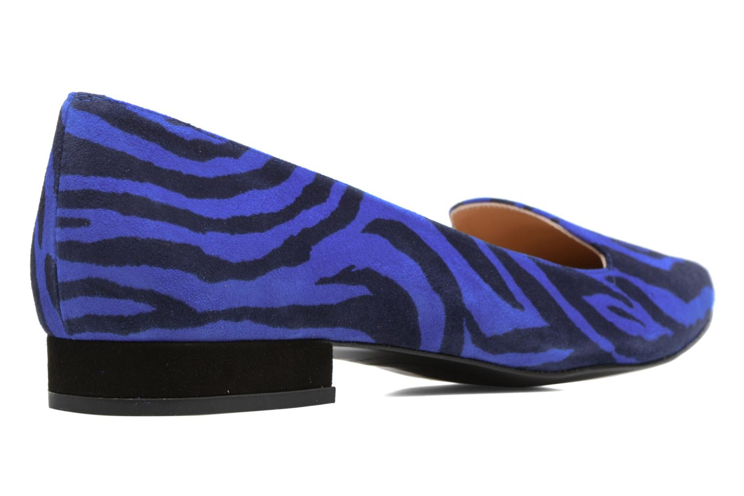 Loafers Made by SARENZA Bombay Babes Mocassins #1 Blue front view