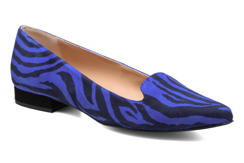 Mocasines Made by SARENZA Bombay Babes Mocassins #1 Azul vista lateral derecha