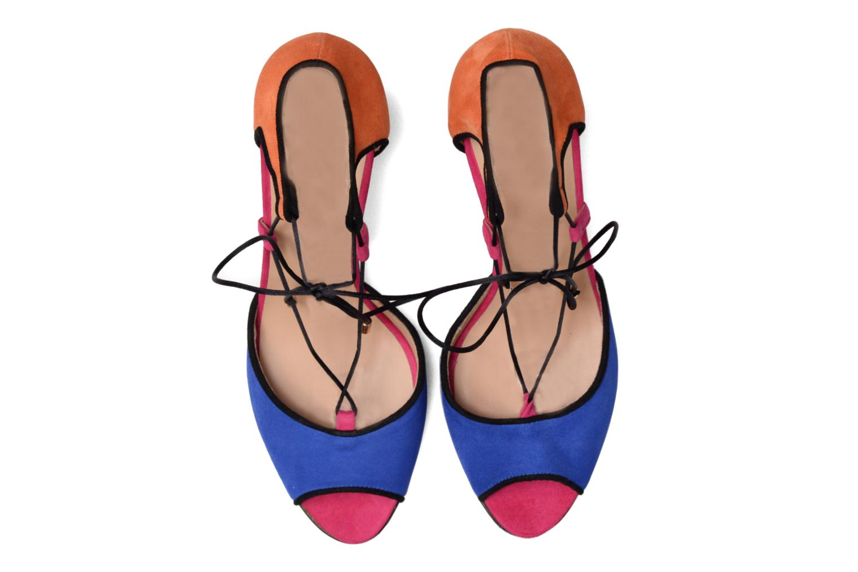 Sandalias Made by SARENZA Mexicoco #8 Multicolor vista del modelo