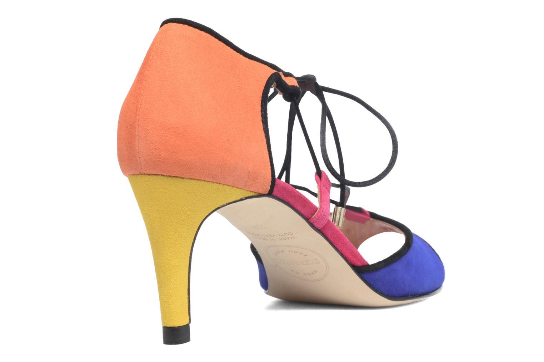 Sandalias Made by SARENZA Mexicoco #8 Multicolor vista de frente