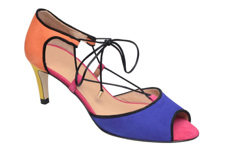 Sandales et nu-pieds Made by SARENZA Mexicoco #8 Multicolore vue droite