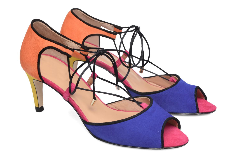 Sandalias Made by SARENZA Mexicoco #8 Multicolor vistra trasera