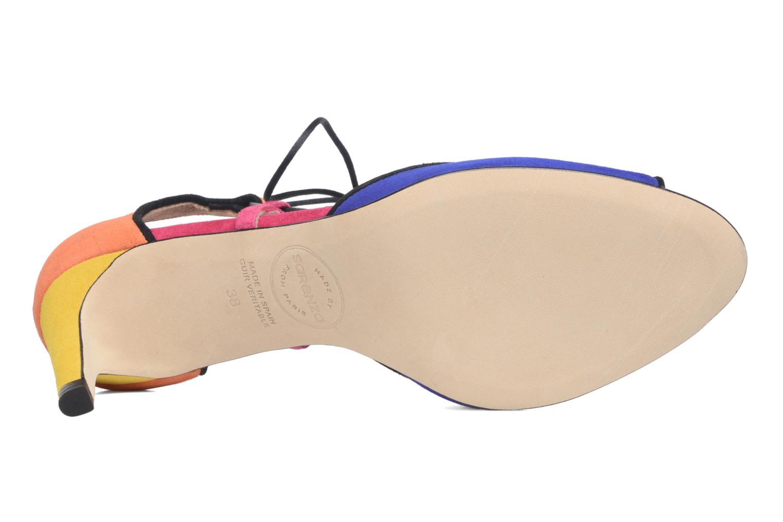 Sandales et nu-pieds Made by SARENZA Mexicoco #8 Multicolore vue haut
