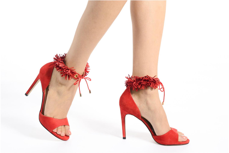 Sandales et nu-pieds Made by SARENZA Frida Banana #6 Rouge vue bas / vue portée sac
