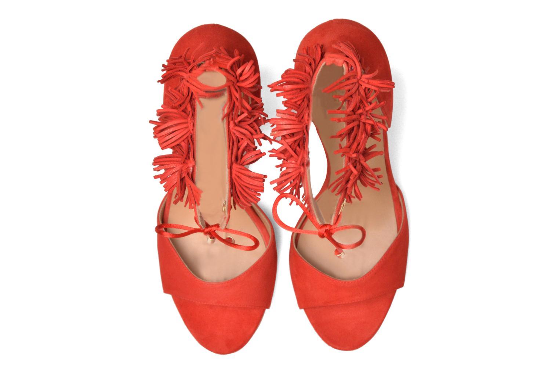 Sandales et nu-pieds Made by SARENZA Frida Banana #6 Rouge vue portées chaussures