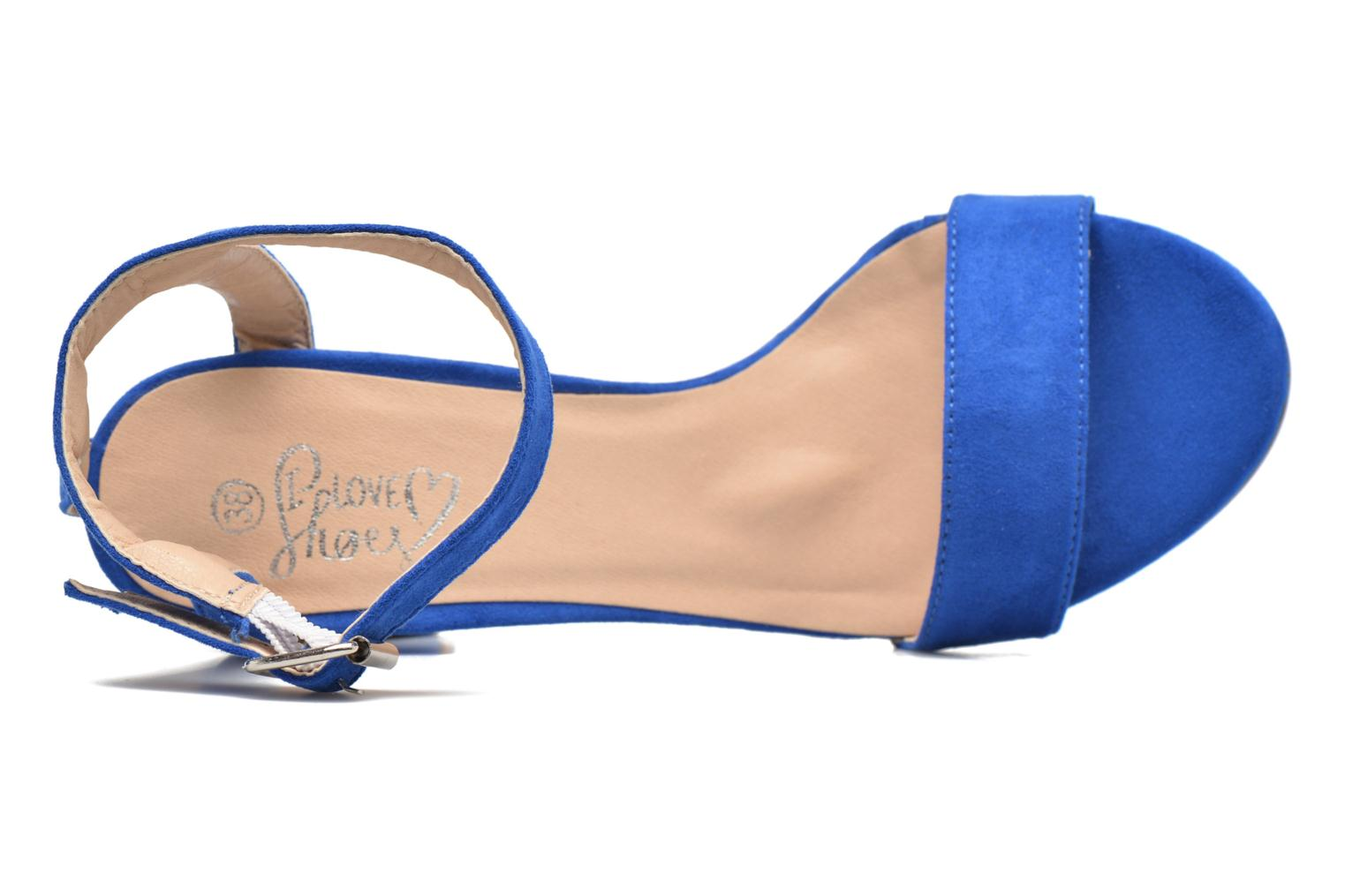 Sandalias I Love Shoes BELYZE Azul vista lateral izquierda