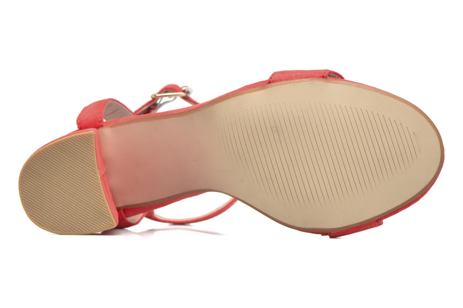 Sandalias I Love Shoes BELYZE Rojo vista de arriba