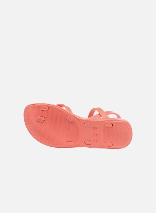 Sandalias Ipanema Fashion sandal IV Rosa vista de arriba