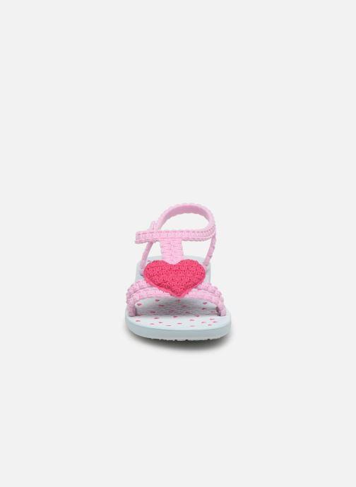 Sandalen Ipanema My First Ipanema BB rosa schuhe getragen