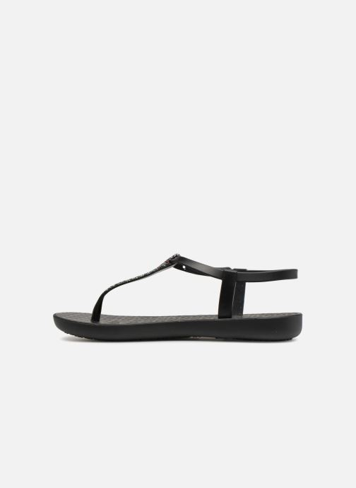 Tongs Ipanema Charm Sandal II Noir vue face