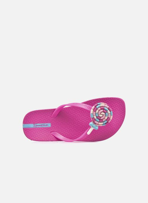 Chanclas Ipanema Summer Love Kids II Rosa vista lateral izquierda