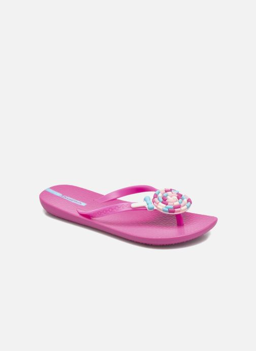 Chanclas Ipanema Summer Love Kids II Rosa vista de detalle / par