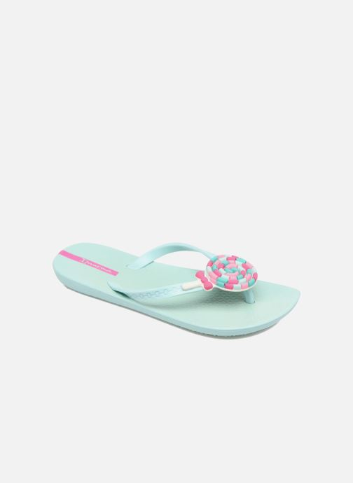 Tongs Ipanema Summer Love Kids II Bleu vue détail/paire