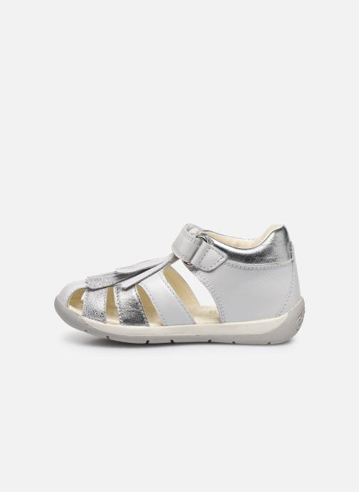 Sandales et nu-pieds Geox B Each G. E B720AE Blanc vue face