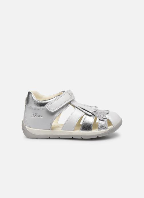 Sandales et nu-pieds Geox B Each G. E B720AE Blanc vue derrière