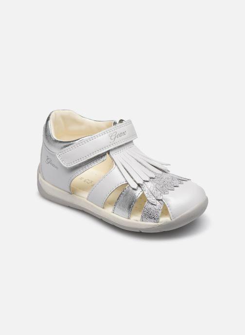 Sandales et nu-pieds Geox B Each G. E B720AE Blanc vue détail/paire