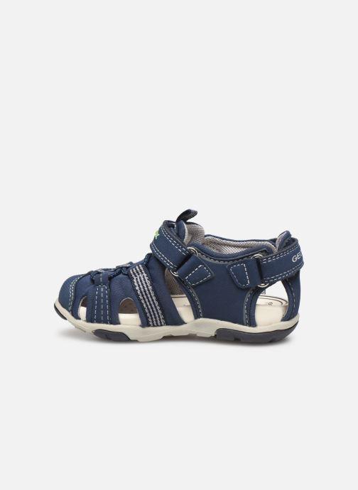 Sandales et nu-pieds Geox B S.Agasim B. D B721AD Bleu vue face
