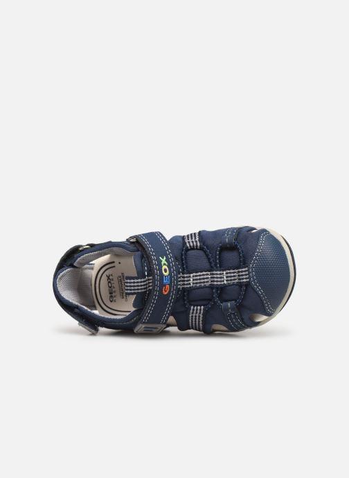 Sandales et nu-pieds Geox B S.Agasim B. D B721AD Bleu vue gauche