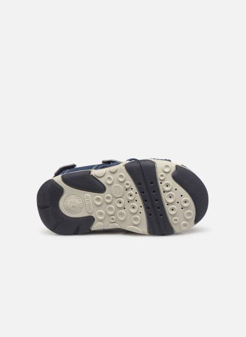 Sandales et nu-pieds Geox B S.Agasim B. D B721AD Bleu vue haut