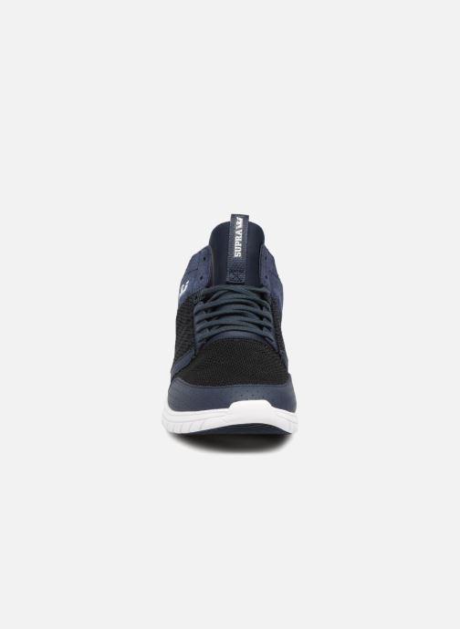 Sneaker Supra Method blau schuhe getragen